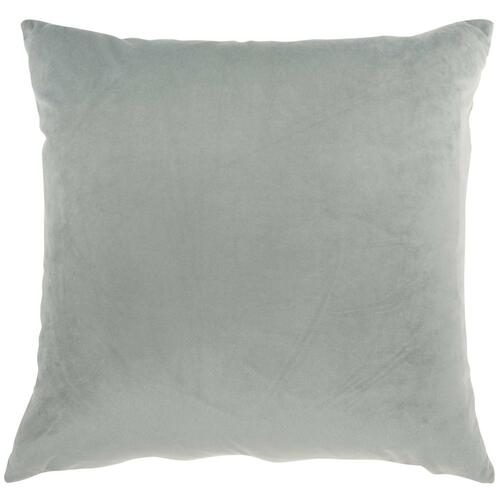 "Inspire Me! Home Decor Bj109 Lt Grey 18"" X 18"" Throw Pillow"