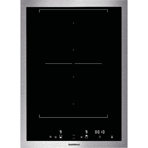 400 series Vario 400 series flex induction cooktop Stainless steel frame