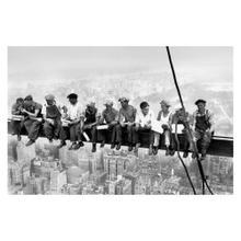 See Details - Eating Above Manhattan - Giant Art