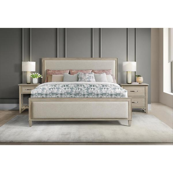 See Details - Talford Natural - Two Drawer Nightstand - Natural Finish