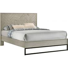 """View Product - Weston Wood Bed - 61.25"""" W x 83.25"""" D x 50.5"""" H"""