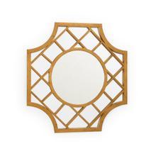 See Details - Lattice Mirror - Gold