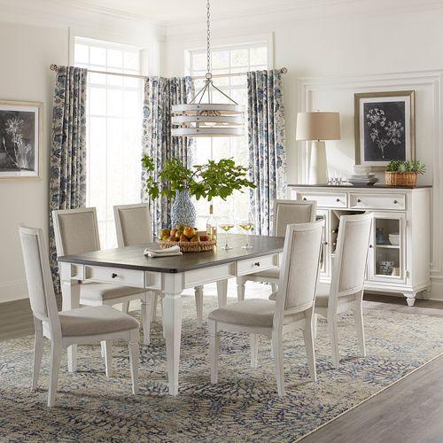 Liberty Furniture Industries - Alternate 7 Piece Rectangular Table Set