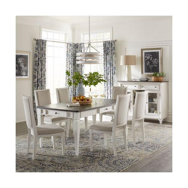 Alternate 7 Piece Rectangular Table Set