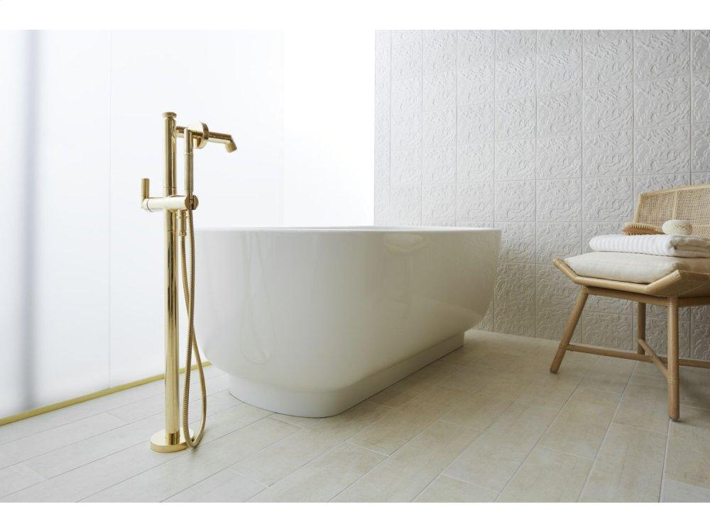 Additional Freestanding Bathtub - Stucco White