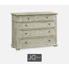 See Details - Large Chest of Drawers in Rustic Grey