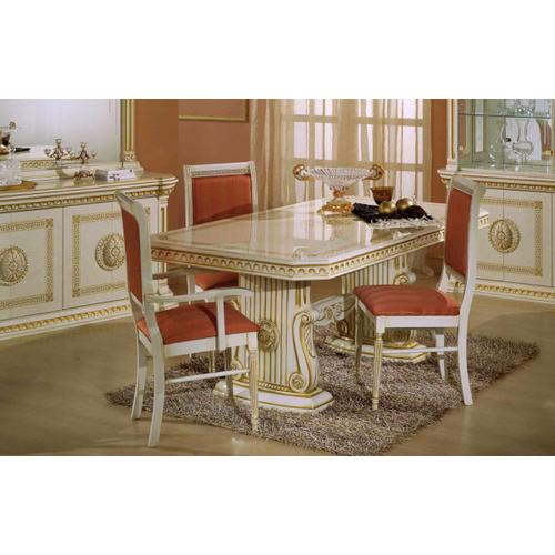 Modrest Rossella Beige Traditional Dining Set (Including China)