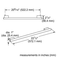 22-Inch Masterpiece® Handle for Under Counter
