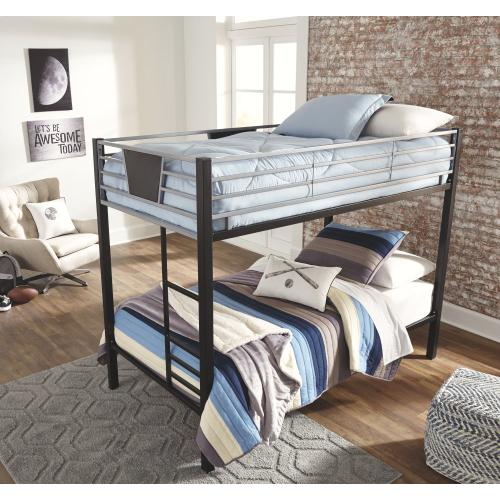 Dinsmore Twin Over Twin Bunk Bed With Ladder