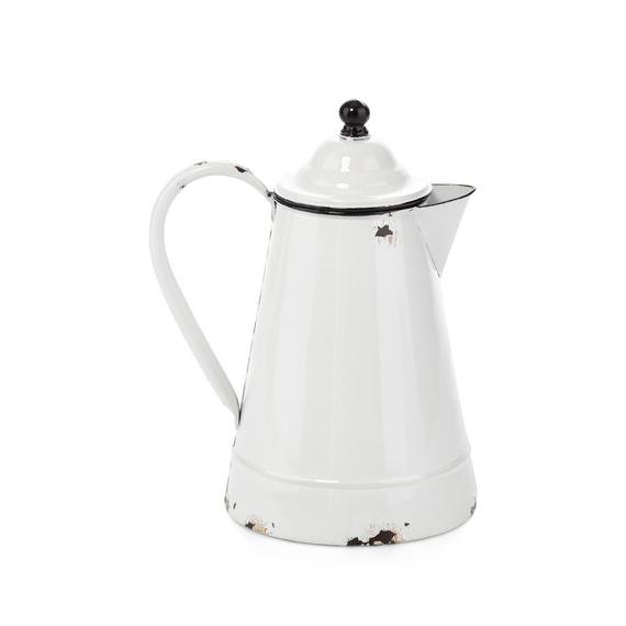 Ami Enamel Pitcher with Lid