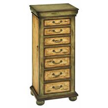 Jwlry Armoire 2dr 7dw Lifttp