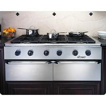 Trim Kit for Epicure EG486 and EG386 Cooktop trim kit to change color of knobs, bullnose and handle endcaps to Brass