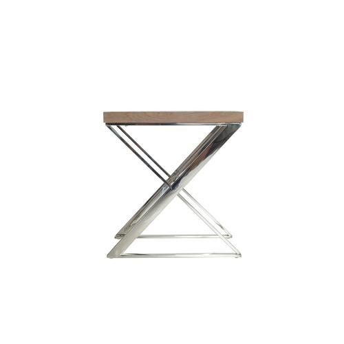 Modrest Rowlett Modern Antique Ash End Table