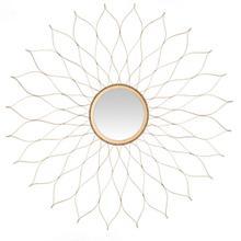 See Details - Flower Mirror - Gold