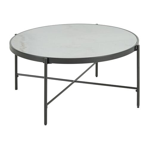 Vienna Round Coffee Table with Marble Top