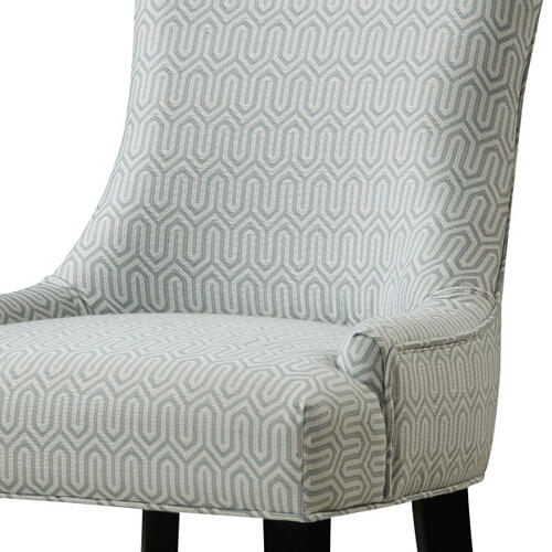 Dining Chair Geo Mist