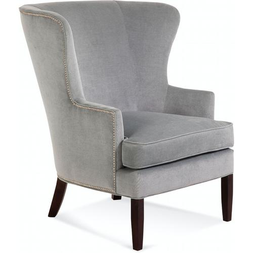 Braxton Culler Inc - Tredwell Wing Chair with Nailheads