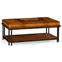 See Details - Country cocktail ottoman