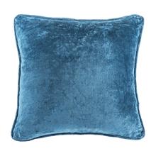 See Details - Blue Velvet Pillow