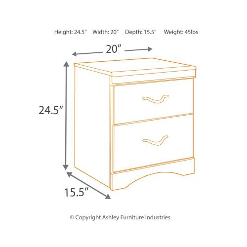 Zanbury Nightstand