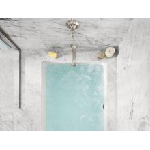 See Details - Small Rectangular Bathtub - Stucco White
