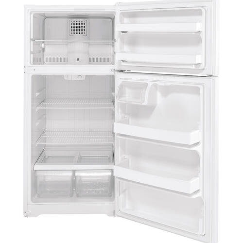 GE Energy Star® 15.6 Cu. Ft. Top-Freezer Refrigerator White - GTE16DTNRWW