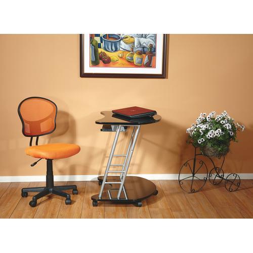 Mesh Task Chair In Orange Fabric