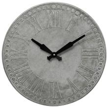 Metal Wall Clock  16in X 16in X 1in