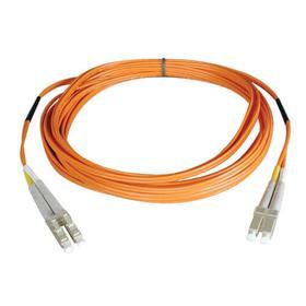 Duplex Multimode 62.5/125 Fiber Patch Cable (LC/LC), 61M (200 ft.)