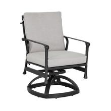 View Product - Marquis Formal Arm Dining Swivel Rocker