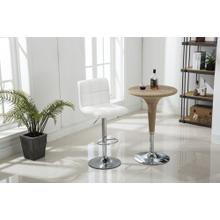 See Details - WHITE BAR STOOL (2 IN 1 BOX)