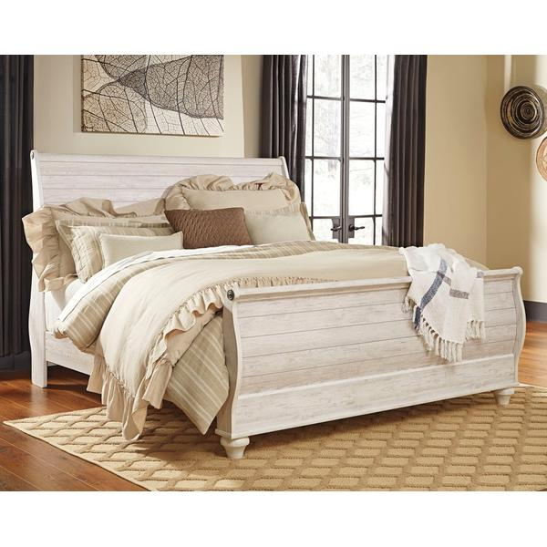 Willowton King Sleigh Bed