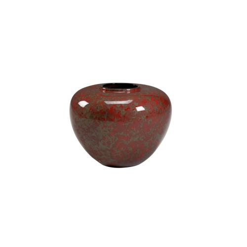 Oval Jar - Red