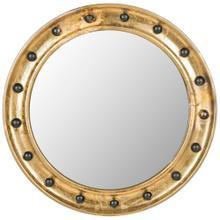 See Details - Mariner Porthole Mirror - Antique Gold