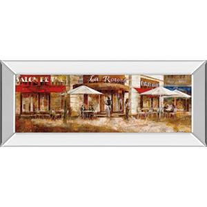 "Classy Art - ""La Rolende"" By Noemi Martin Mirror Framed Print Wall Art"