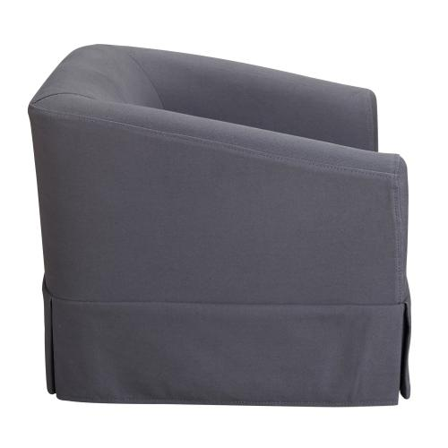 Tov Furniture - Molly Grey Linen Pet Bed