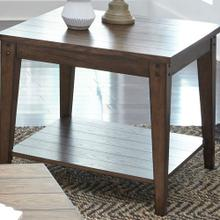 View Product - Square Lamp Table