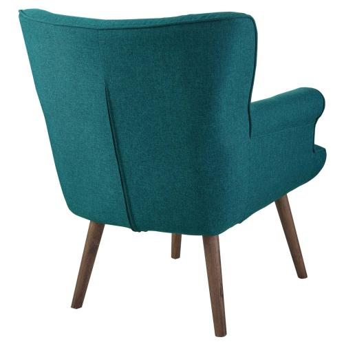 Modway - Cloud Upholstered Armchair in Teal