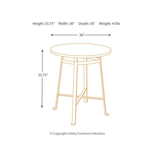 Challiman Counter Height Dining Room Table