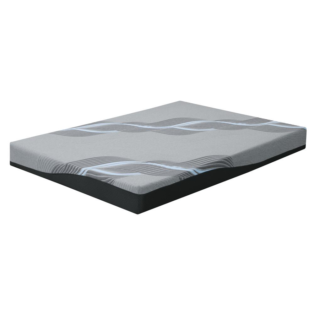 "Celestine 8"" Firm 8"" Cal King Mattress, Cosmos Gray Es5208ckm-01"