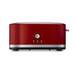 KitchenAid4-Slice Long Slot Toaster with High Lift Lever - Empire Red