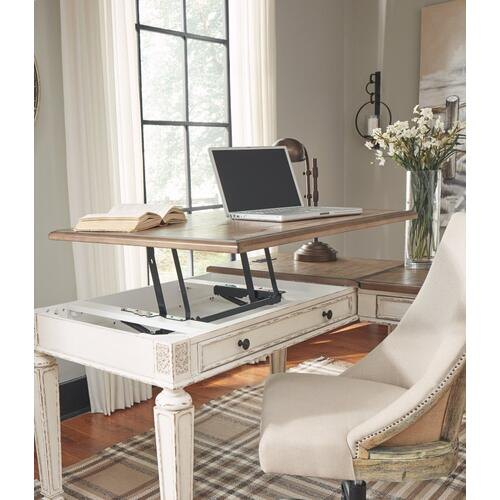Realyn 2-piece Home Office Lift Top Desk
