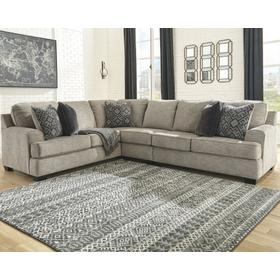 See Details - Bovarian 3-piece Sectional Stone