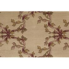 Ashton House Ribbon Trellis A01f Beige Broadloom