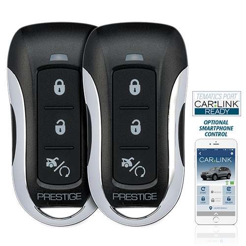 Prestige - One-Way Remote Start & Keyless Entry System with up to 1,500 Feet Operating Range