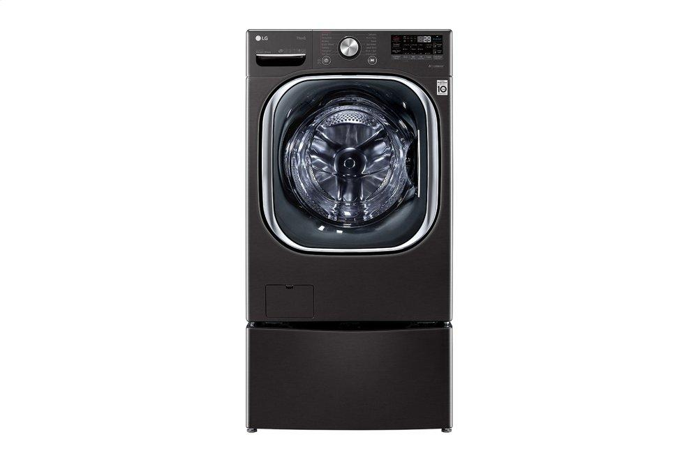 5.0 cu. ft. Mega Capacity Smart wi-fi Enabled Front Load Washer with TurboWash™ 360(degree) and Built-In Intelligence Photo #2