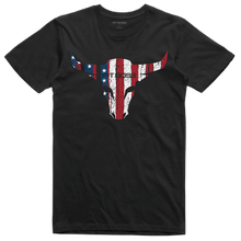 Men's Black American Bull T-Shirt