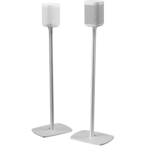 White- Flexson Floor Stand (Pair)
