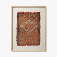 0350820008 Vintage Turkish Rug Wall Art