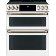 """30"""" Smart Slide-In, Front-Control, Induction and Convection Double-Oven Range"""